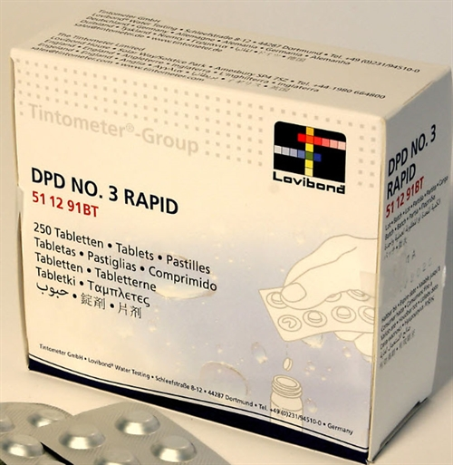 DPD nr 3 Rapid test piller 50 stk.